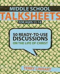 """[""""It's not hard to get middle schoolers to talk...unless you're talking about something other than the latest band, movie, or the opposite sex! If you want to get them thinking and talking about Jesus-beyond the flannelgraph, Sunday school Jesus-you have everything you need right here.  The latest addition to the best-selling TalkSheets series, Middle School TalkSheets: Life of Christ gives you easy-to-use discussion starters and the tools to lead students into meaningful dialogue about J..."""