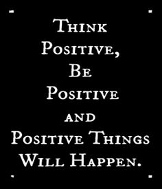 The day?s positive quote