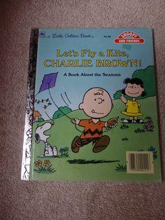 Charlie Brown Little Golden Books Good by JustPatTreasuresshop