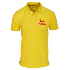 Avenster Yellow Polo T Shirt-₹349.00