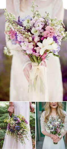 Love these wedding flowers. | mysweetengagement.com
