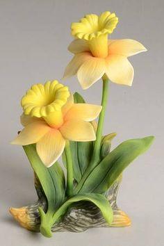 Sadek Sadek Flower Figurines Daffodils - With Box 49