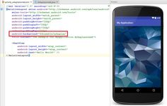 How to add background image in android studio