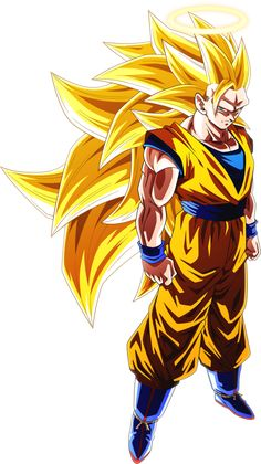 Super Saiyan 3 Goku #1 [Alt.1] by AubreiPrince.deviantart.com on @DeviantArt