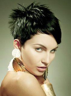 Very Short Layered Hair