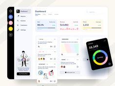 Custom Dashboard, Dashboard Ui, Dashboard Design, Modern Web Design, Web Ui Design, User Experience Design, Ui Web, Article Design, Interface Design