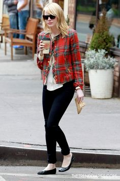Emma Stone out in New York City, New York - May 3, 2012