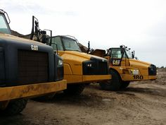 There is a lot of earthmoving going on at Sonoma Isles