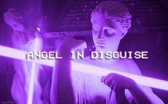 own edit violet aesthetic