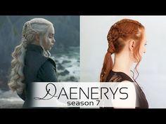 Game of Thrones Daenerys Dragonstone Braided Ponytail Hairstyle - YouTube