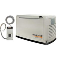Choose the #1 Selling Home Standby Generator Brand. Generac's 8,000-Watt Guardian Series provides the automatic backup power you need to protect your home and family during a power outage. Connected to your existing LP or natural gas fuel supply, it kicks in within seconds of determining power loss automatically and runs for as long as necessary until utility power returns. Control your power. Control your life.