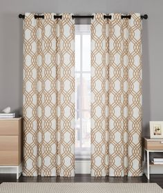 Dark Room Blackout Single Panel Window Curtain- Assorted Sizes and Colors (Single Panel) (55X84, M/Taupe) ** To view further for this item, visit the image link. (This is an affiliate link and I receive a commission for the sales)