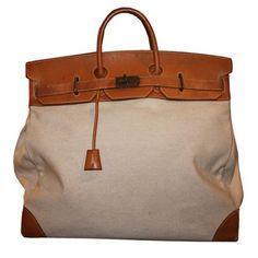 Over sized Hermes Travel Bag