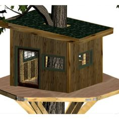 Welcome to EZ Treehouse Plans