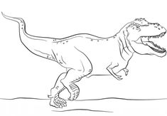Jurassic Park T Rex Coloring Page From Tyrannosaurus Category Select 25694 Printable Crafts Of Cartoons Nature Animals Bible And Many More