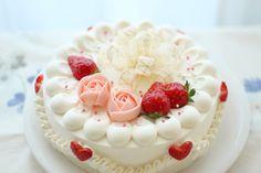 Girly bow cake~