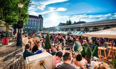 Slovenia's – and now Europe's – green capital is a laid-back charmer of a city. Easily walkable, it boasts striking architecture and a vibrant outdoor eating and drinking culture