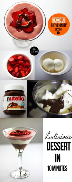Who doesn't love strawberries, Nutella and ice cream!!!