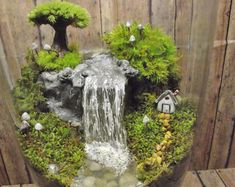 Add a Miniature Waterfall Pond or River to your Fairy by GypsyRaku