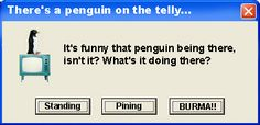 Penguin on the Telly