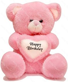 📢 Price starts from ⚖ Price comparison from all online stores in India. 👍Richy Toys 50 Cm With Birthday Heart Stuffed Soft Plush Toy Kids Teddy Bear (Pink) Happy Birthday Teddy Bear, Happy Birthday Wishes Cake, Happy Birthday Cake Images, Birthday Pictures, Cute Teddy Bear Pics, Teddy Bear Pictures, My Teddy Bear, Bear Images, Teddy Bear Online