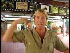Come on an Tour with Steve Irwin. Now rare footage of Steve sharing his zoo. Located on the Sunshine Coast, just north of so visit in memory of Steve Irwin. - we were lucky enough to visit whilst he was still there and saw him. What a sad sad loss. Australian Crocodile, Australian Animals, Steve Irwin, Australia Continent, Australia Travel, Australia Tattoo, Zany Zoo, Irwin Family, Australia Kangaroo