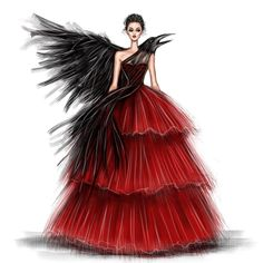 Exquisite haute couture fashion designs - New Sites Dress Design Drawing, Dress Design Sketches, Fashion Design Sketchbook, Fashion Design Portfolio, Dress Drawing, Fashion Design Drawings, Fashion Sketches, Fashion Drawing Dresses, Fashion Illustration Dresses