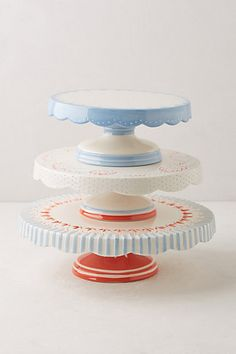 Scalloped Celebration Cake Stand #anthropologie