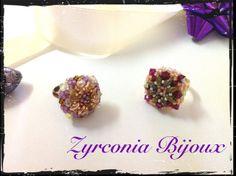 "Zyrconia Bijoux: TUTORIAL: Anello ""Beautiful Bead"""