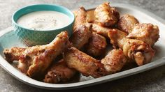 Three ingredients is all you need for these quick and tasty ranch-flavored chicken wings. They make an excellent weeknight appetizer or an easy game-day dish to share.
