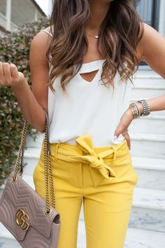Yellow for summer!