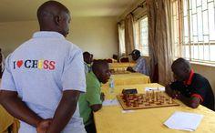 Chess championships in Uganda.