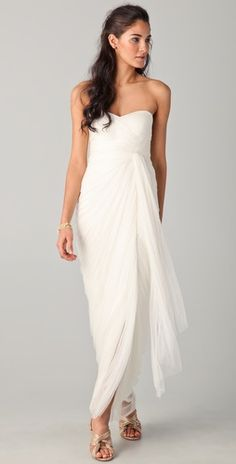 Catherine Deane Leanna Gown  I'd have to be the cool bride and let my bridesmaids wear something like this