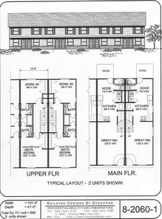 Apartment unit plans modern apartment building plans in for 24 unit apartment building plans