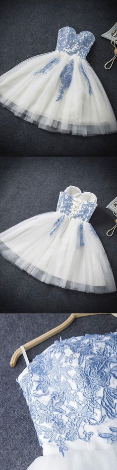 Sweetheart Short Tulle A-line Lace Up Cute Simple Cheap Elegant Vintage Homecoming Dresses For Teens,Homecoming Dresses,Party Dresses,Cocktail Dresses,Short Prom Dresses Semi Dresses, Hoco Dresses, Dance Dresses, Pretty Dresses, Beautiful Dresses, Elegant Homecoming Dresses, Prom Gowns, Ball Dresses, 1950s Dresses