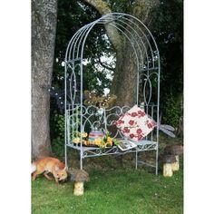 """Rundleford Avenue"" Scrolled Garden Arbour Seat"