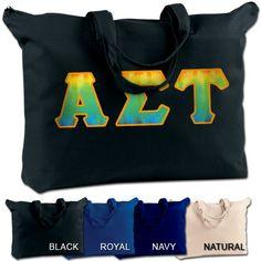 Alpha Sigma Tau Sorority Shoulder Bag