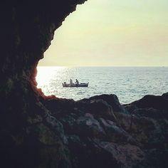 #fish#sea#fishing#oldstyle#sun#sunrise