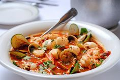 """""""Chip-In-O"""" Seafood Stew"""