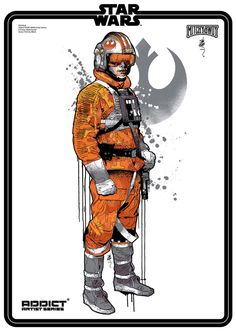 Star Wars / Lucasfilm / Addict clothing by Mitchy Bwoy, via Behance