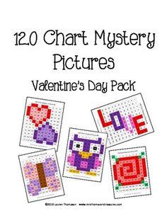 Winter Coordinate Graphing Ordered Pairs Mystery Pictures
