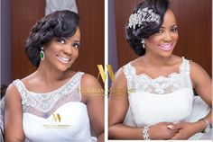 Dee Q Looks and Hair by Sleame serve us this gorgeous bridal hair and makeup inspiration from a bridal shoot they worked together withYes I Do Bridals! And we're 100 percent sure, it will inspire you! Check out all the lovely photos below, courtesy ofMofe Bamuyiwa Photography!