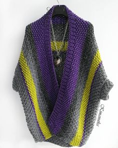 63 de The Effective Pictures We Offer You About knitting jacket A quality picture can tell you many things. Crochet Jacket, Crochet Cardigan, Knit Jacket, Crochet Shawl, Knit Crochet, Knitwear Fashion, Crochet Fashion, Knitting Club, Knitting Designs