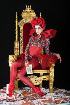 Angelina Sansone as Queen of Hearts. Kansas City Ballet