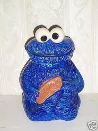 The very first jar we bought together as a couple. Cookie Monster was always my favorite on Sesame Street.