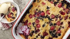 Bursting with fresh blueberries and raspberries and brightened with lemon juice, this traditional dump cake will become a summer staple.