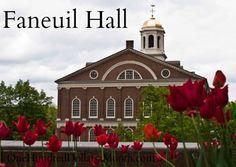 Faneuil Hall, Boston Massachusetts
