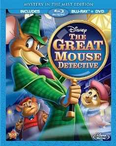Rent The Great Mouse Detective starring Vincent Price and Barrie Ingham on DVD and Blu-ray. Get unlimited DVD Movies & TV Shows delivered to your door with no late fees, ever. Walt Disney, Disney Dvd, Disney Movies, Disney Pixar, Disney Posters, Pixar Movies, Cartoon Movies, Disney Toys, Disney Stuff