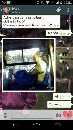 Carteira no ônibus. | 17 piadas de WhatsApp que vão despertar seus instintos de tiozão