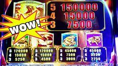 HUGE POTENTIAL  TWO AWESOME NEW ARUZE GAMES  BIG WINS #lasvegas #vegas #casino #slots #win #winning #winner
